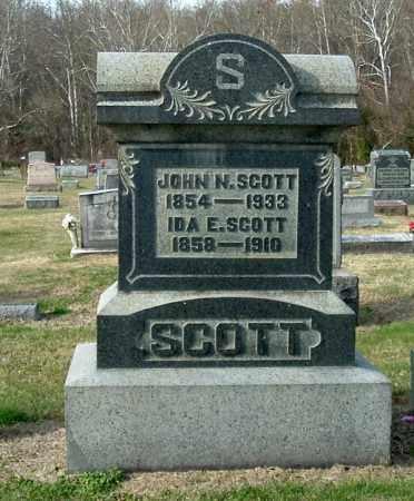 SCOTT, IDA E - Gallia County, Ohio | IDA E SCOTT - Ohio Gravestone Photos