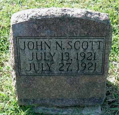 SCOTT, JOHN N - Gallia County, Ohio | JOHN N SCOTT - Ohio Gravestone Photos