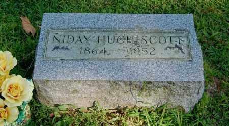 SCOTT, NIDAY HUGH - Gallia County, Ohio | NIDAY HUGH SCOTT - Ohio Gravestone Photos