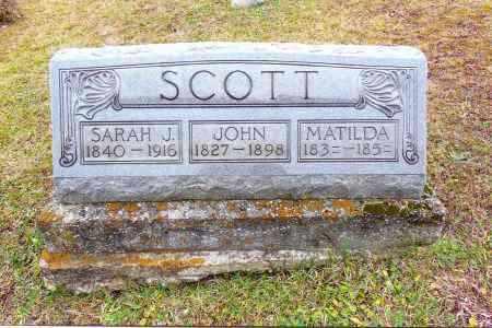 SCOTT, JOHN - Gallia County, Ohio | JOHN SCOTT - Ohio Gravestone Photos
