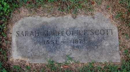 SCOTT, SARAH M - Gallia County, Ohio | SARAH M SCOTT - Ohio Gravestone Photos