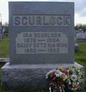 SCURLOCK, IRA - Gallia County, Ohio | IRA SCURLOCK - Ohio Gravestone Photos