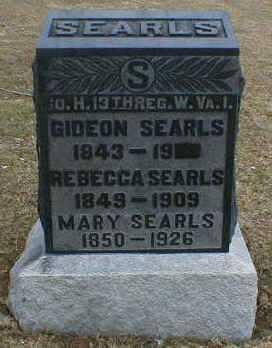 CONKLE SEARLES, REBECCA - Gallia County, Ohio | REBECCA CONKLE SEARLES - Ohio Gravestone Photos