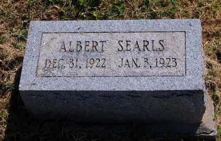 SEARLS, ALBERT - Gallia County, Ohio | ALBERT SEARLS - Ohio Gravestone Photos