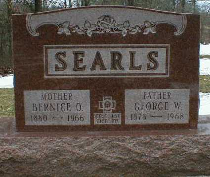 SEARLS, BERNICE - Gallia County, Ohio | BERNICE SEARLS - Ohio Gravestone Photos