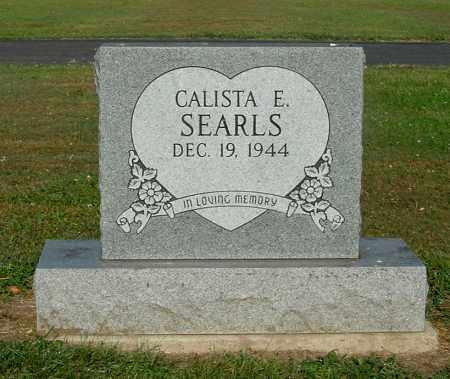 SEARLS, CALISTA E - Gallia County, Ohio | CALISTA E SEARLS - Ohio Gravestone Photos