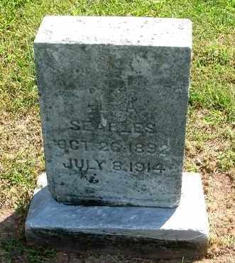 SEARLS, ELZA - Gallia County, Ohio   ELZA SEARLS - Ohio Gravestone Photos