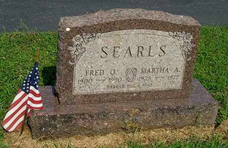 SEARLS, MARTHA A - Gallia County, Ohio | MARTHA A SEARLS - Ohio Gravestone Photos