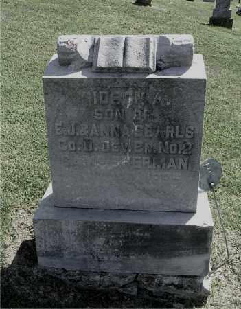SEARLS, GIDEON A - Gallia County, Ohio | GIDEON A SEARLS - Ohio Gravestone Photos