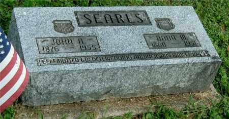 SEARLS, ANNA M - Gallia County, Ohio | ANNA M SEARLS - Ohio Gravestone Photos