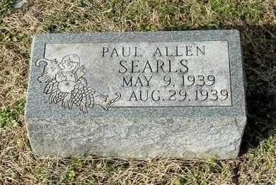 SEARLS, PAUL ALLEN - Gallia County, Ohio   PAUL ALLEN SEARLS - Ohio Gravestone Photos