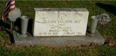 SEE, GLENN EUGENE - Gallia County, Ohio | GLENN EUGENE SEE - Ohio Gravestone Photos