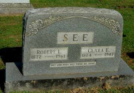 SEE, CLARA ELIZABETH - Gallia County, Ohio | CLARA ELIZABETH SEE - Ohio Gravestone Photos