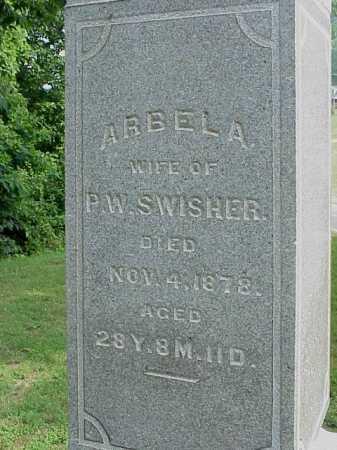 SWISHER, ARBELA - Gallia County, Ohio | ARBELA SWISHER - Ohio Gravestone Photos