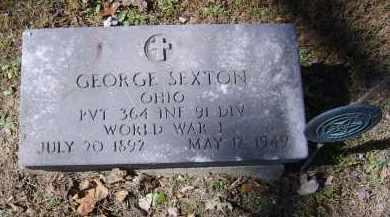 SEXTON, GEORGE - Gallia County, Ohio | GEORGE SEXTON - Ohio Gravestone Photos