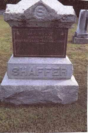HANDLEY SHAFFER, IDA - Gallia County, Ohio | IDA HANDLEY SHAFFER - Ohio Gravestone Photos