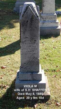 SHAFFER, VIOLA M - Gallia County, Ohio | VIOLA M SHAFFER - Ohio Gravestone Photos
