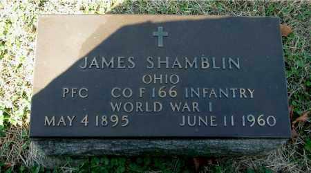 SHAMBLIN, JAMES - Gallia County, Ohio   JAMES SHAMBLIN - Ohio Gravestone Photos
