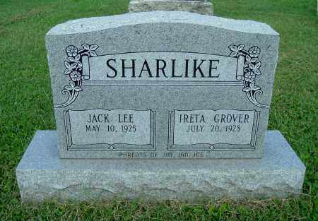 GROVER SHARLIKE, IRETA - Gallia County, Ohio | IRETA GROVER SHARLIKE - Ohio Gravestone Photos