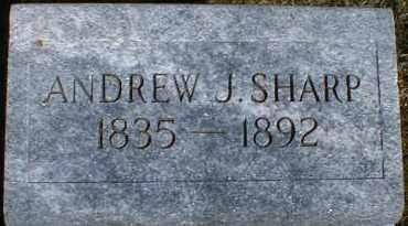 SHARP, ANDREW - Gallia County, Ohio   ANDREW SHARP - Ohio Gravestone Photos