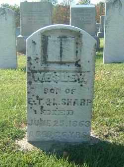 SHARP, WESLEY - Gallia County, Ohio | WESLEY SHARP - Ohio Gravestone Photos