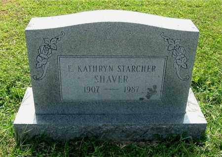 SHAVER, E. KATHRYN - Gallia County, Ohio | E. KATHRYN SHAVER - Ohio Gravestone Photos