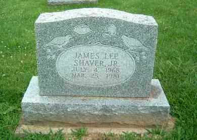SHAVER, JAMES LEE JR. - Gallia County, Ohio   JAMES LEE JR. SHAVER - Ohio Gravestone Photos