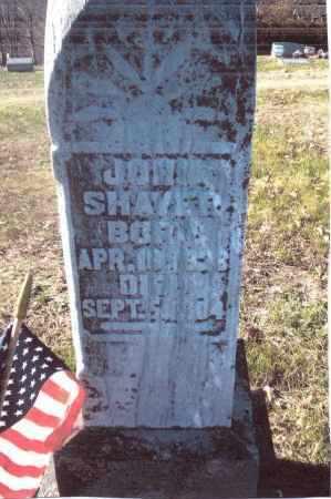 SHAVER, JOHN - Gallia County, Ohio   JOHN SHAVER - Ohio Gravestone Photos