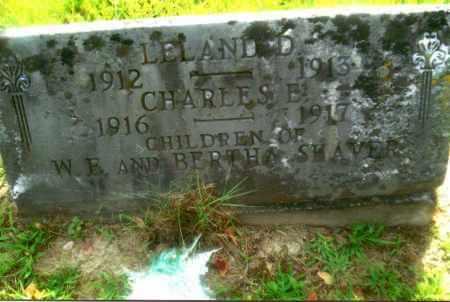 SHAVER, LELAND D. - Gallia County, Ohio | LELAND D. SHAVER - Ohio Gravestone Photos
