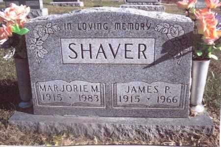 SHAVER, JAMES P. - Gallia County, Ohio   JAMES P. SHAVER - Ohio Gravestone Photos