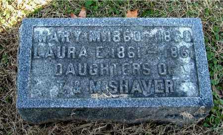 SHAVER, MARY M - Gallia County, Ohio   MARY M SHAVER - Ohio Gravestone Photos