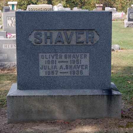 SHAVER, JULIA A - Gallia County, Ohio | JULIA A SHAVER - Ohio Gravestone Photos