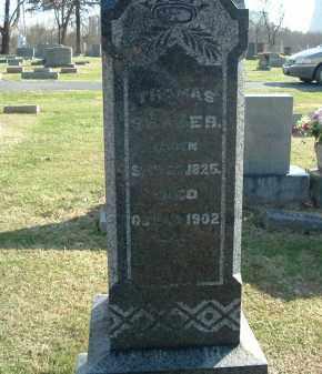 SHAVER, THOMAS - Gallia County, Ohio | THOMAS SHAVER - Ohio Gravestone Photos