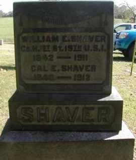 SHAVER, CAL - Gallia County, Ohio   CAL SHAVER - Ohio Gravestone Photos