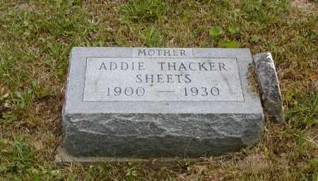 SHEETS, ADDIE - Gallia County, Ohio   ADDIE SHEETS - Ohio Gravestone Photos