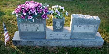 THOMAS SHEETS, PHYLLIS - Gallia County, Ohio   PHYLLIS THOMAS SHEETS - Ohio Gravestone Photos