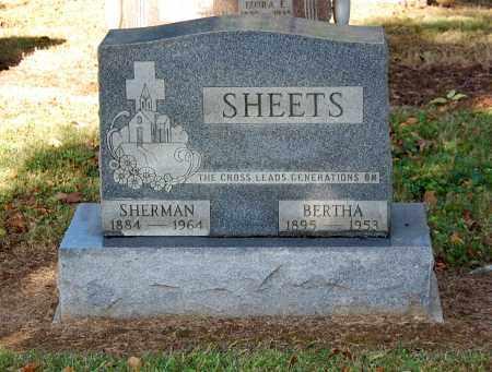 MULFORD SHEETS, BERTHA - Gallia County, Ohio   BERTHA MULFORD SHEETS - Ohio Gravestone Photos