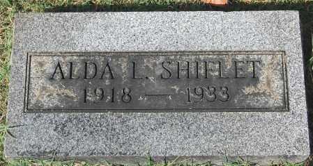 SHIFLET, ALDA L - Gallia County, Ohio | ALDA L SHIFLET - Ohio Gravestone Photos