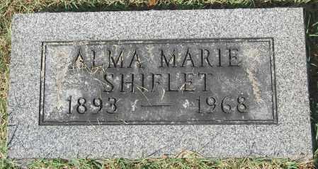 SHIFLET, ALMA MARIE - Gallia County, Ohio | ALMA MARIE SHIFLET - Ohio Gravestone Photos