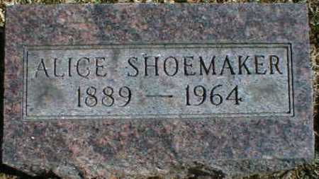 SHOEMAKER, ALICE - Gallia County, Ohio   ALICE SHOEMAKER - Ohio Gravestone Photos