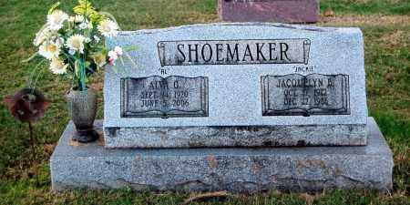 SHOEMAKER, ALVA G - Gallia County, Ohio | ALVA G SHOEMAKER - Ohio Gravestone Photos