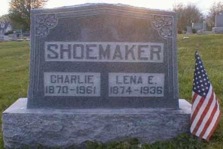 SHOEMAKER, CHARLEY - Gallia County, Ohio   CHARLEY SHOEMAKER - Ohio Gravestone Photos