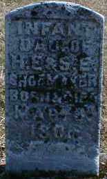 SHOEMAKER, INFANT DAUGHTER - Gallia County, Ohio | INFANT DAUGHTER SHOEMAKER - Ohio Gravestone Photos