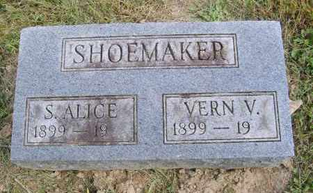 SHOEMAKER, S. - Gallia County, Ohio   S. SHOEMAKER - Ohio Gravestone Photos