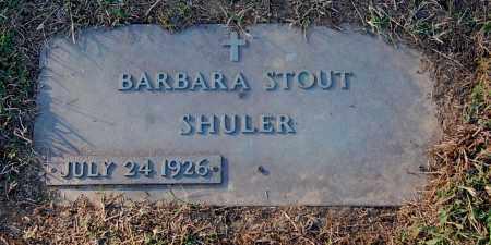 SHULER, BARBARA - Gallia County, Ohio | BARBARA SHULER - Ohio Gravestone Photos