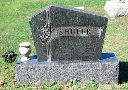SHULER, HENRIETTA - Gallia County, Ohio | HENRIETTA SHULER - Ohio Gravestone Photos