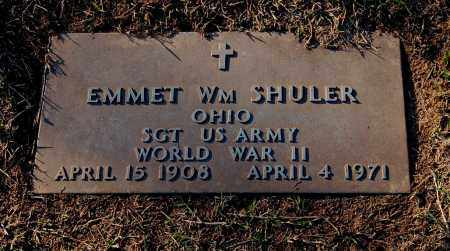 SHULER, EMMET WILLIAM - Gallia County, Ohio | EMMET WILLIAM SHULER - Ohio Gravestone Photos