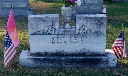 SHULER, FAMILY MONUMENT - Gallia County, Ohio   FAMILY MONUMENT SHULER - Ohio Gravestone Photos