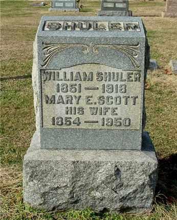 SHULER, WILLIAM - Gallia County, Ohio   WILLIAM SHULER - Ohio Gravestone Photos