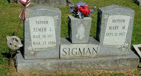 SIGMAN, MARY M - Gallia County, Ohio | MARY M SIGMAN - Ohio Gravestone Photos